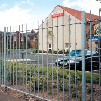 Eccleshall Vertical Bar Fencing