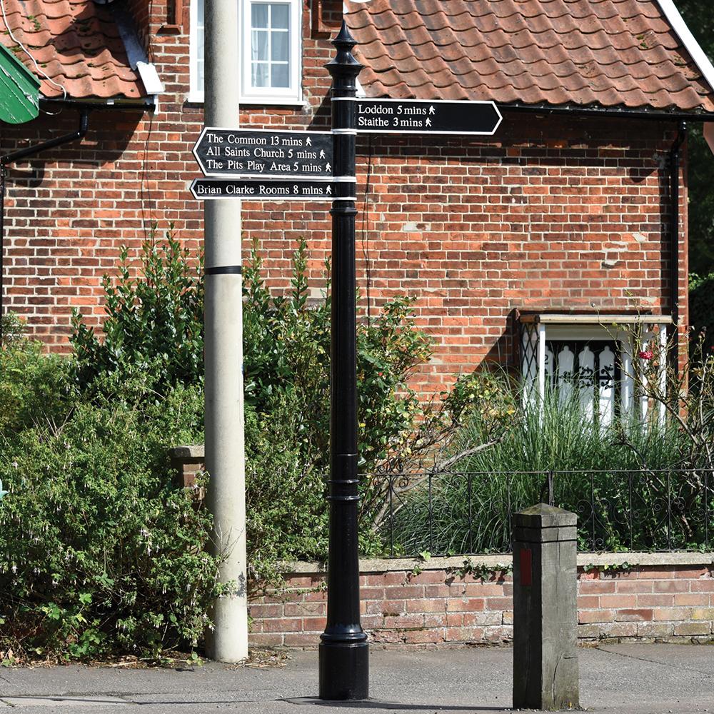 Standard Signage Column