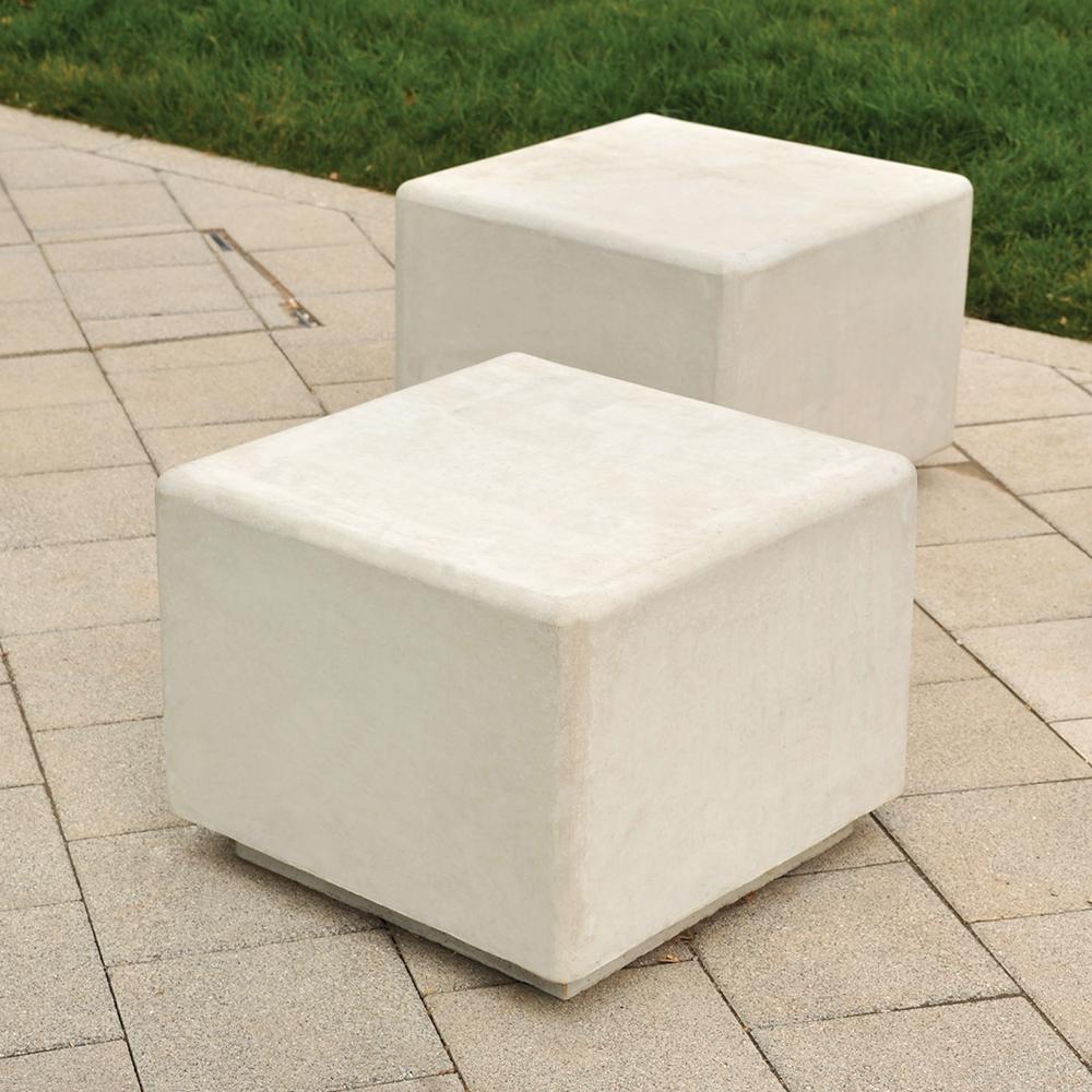 Gorton Concrete Cube Seat
