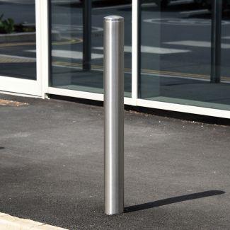 Ridge Stainless Steel Bollard