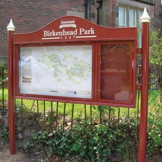 Birkenhead  Display Case