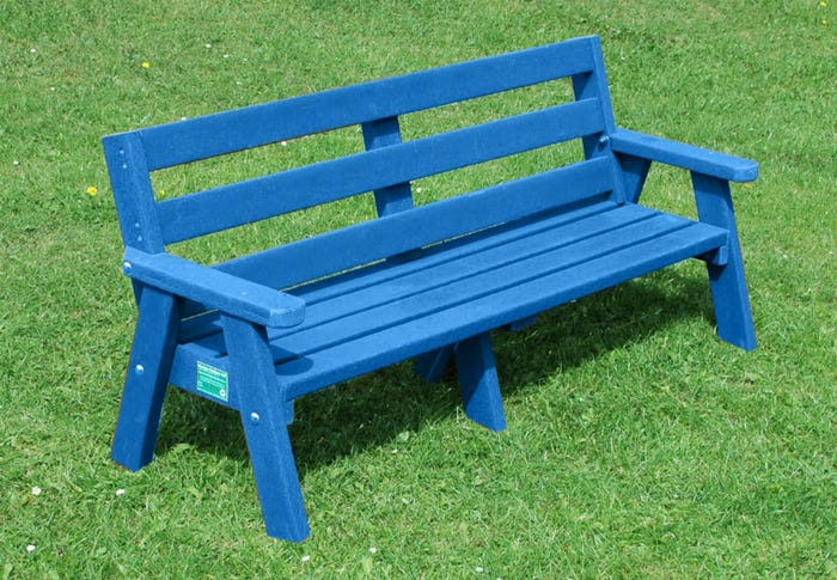Sloper 3 Seat Blue