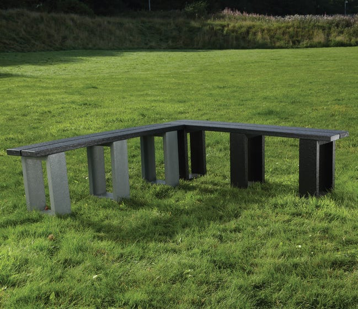 Modular L Shaped Sturdy Bench